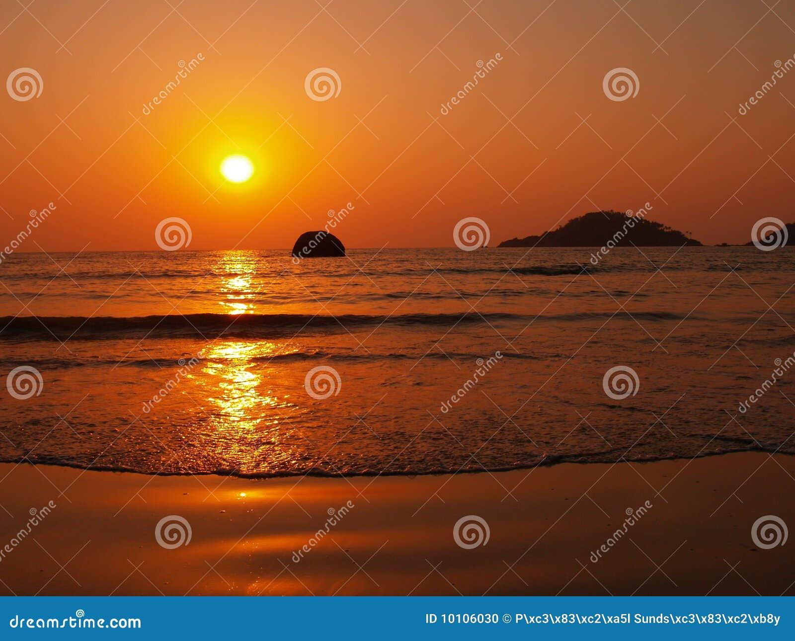 Sonnenuntergang in Goa