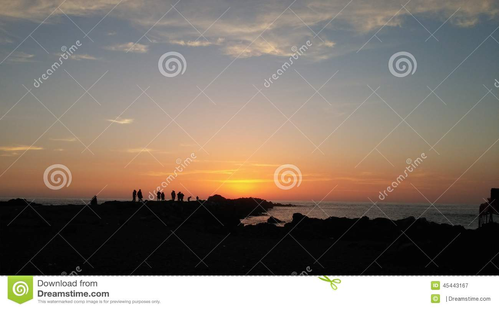 Sonnenuntergang Peru