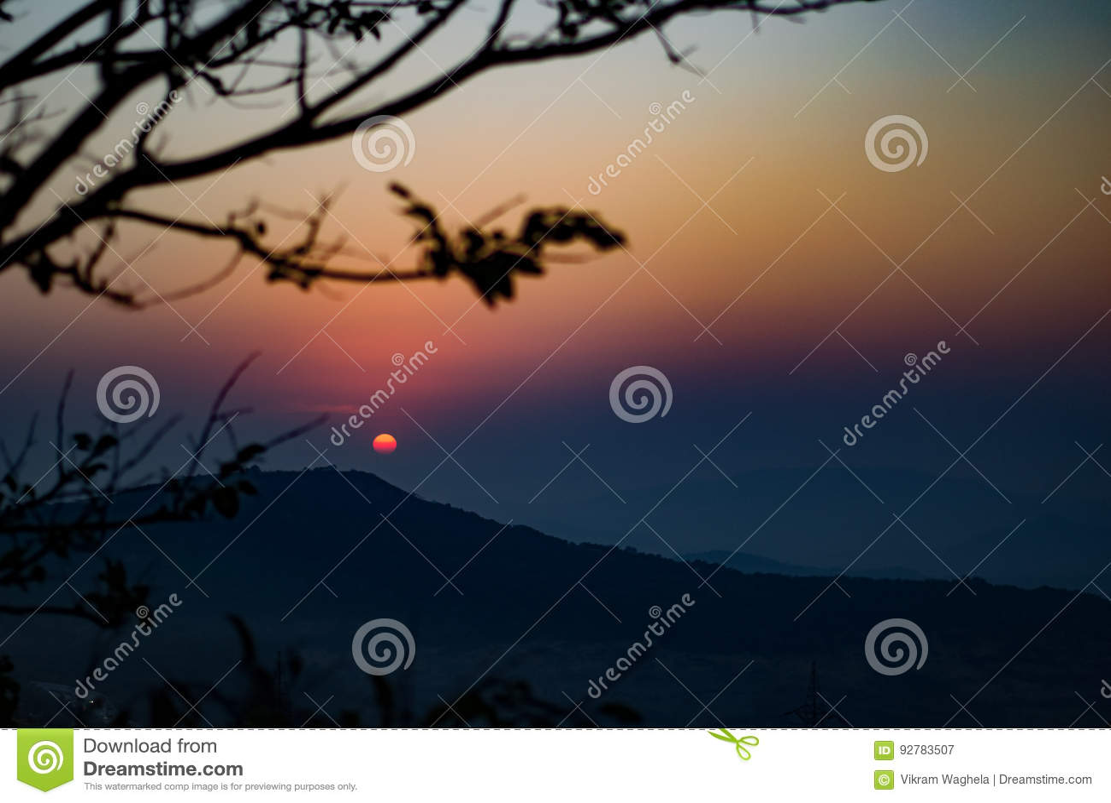 Sonnenuntergang-Punkt, Lonavala