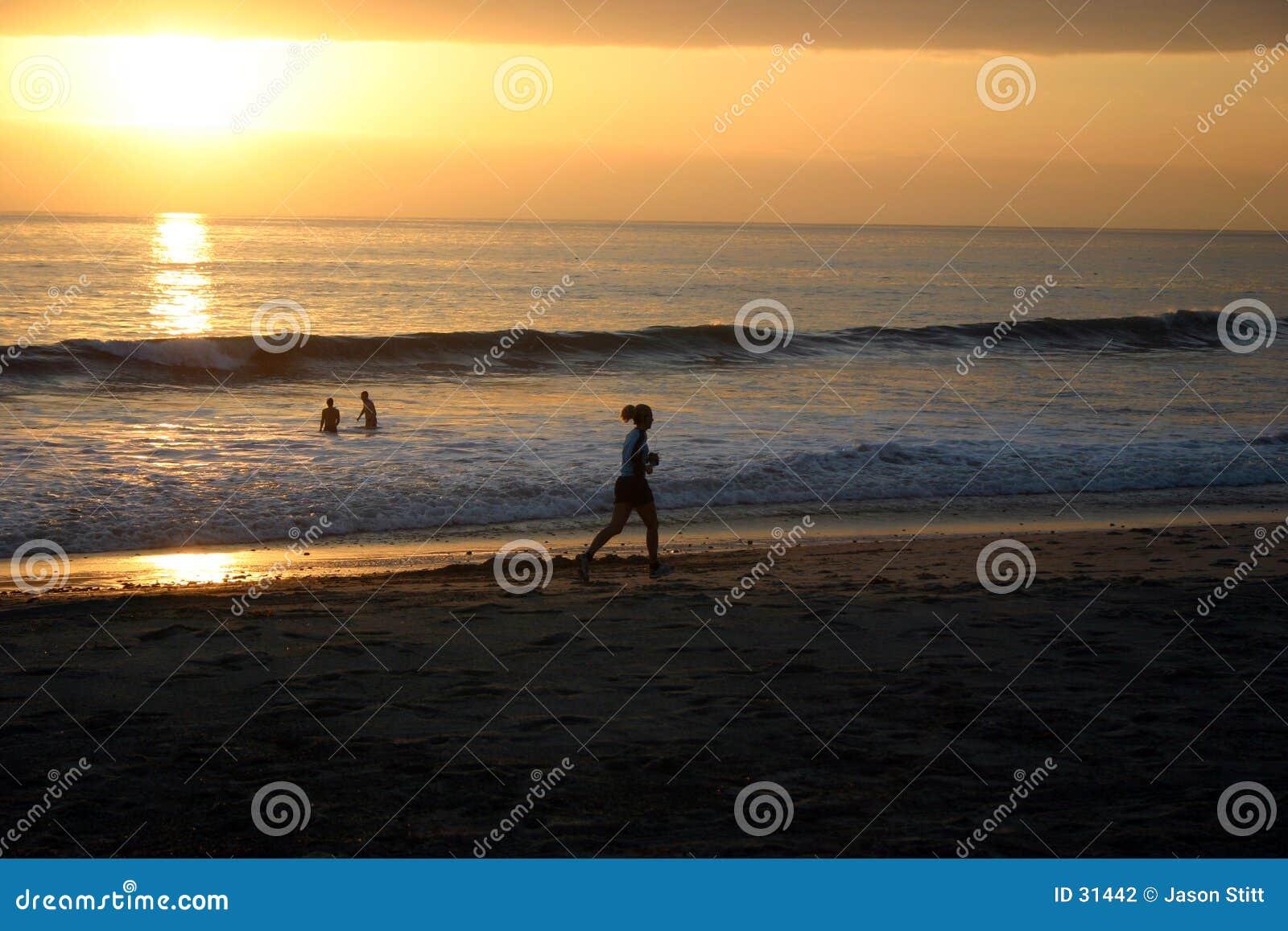 Sonnenuntergang-Seitentrieb