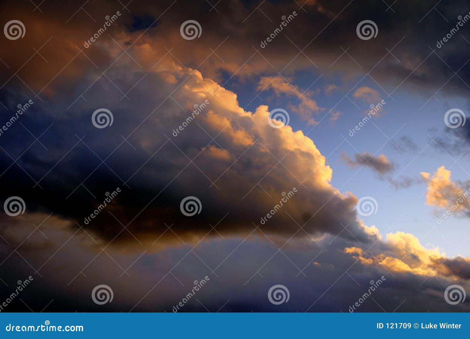 Sonnenuntergang Skyscape