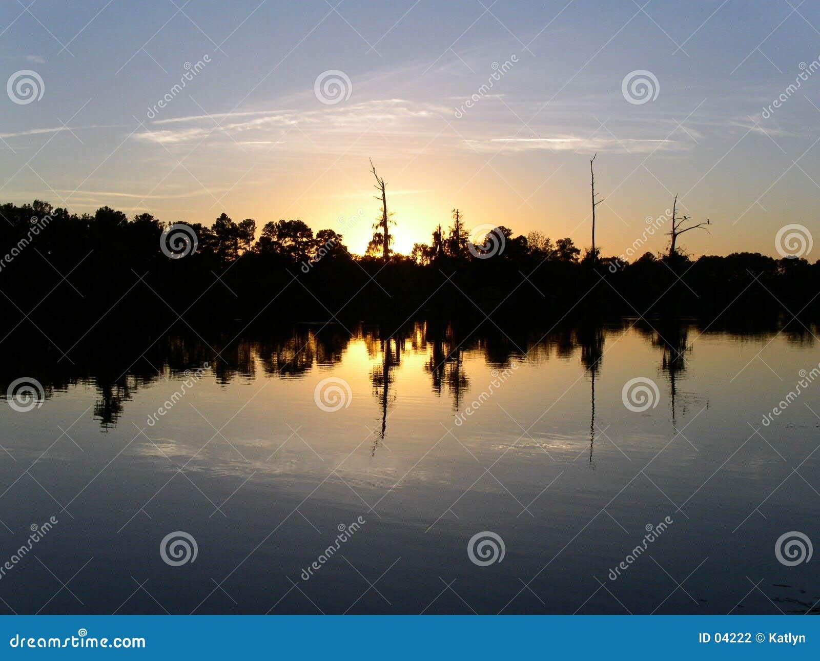 Sonnenuntergang-Zeit