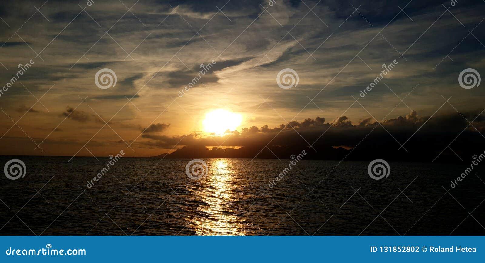 Sonnenuntergangschauer