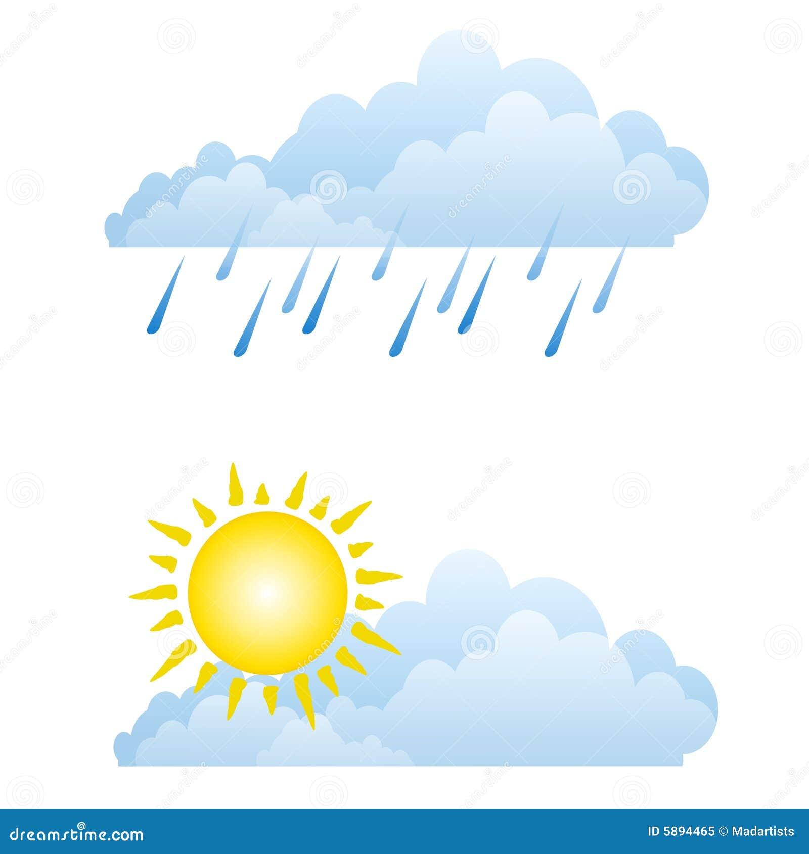 Lizenzfreies stockfoto sonnige regnerische wetter wolken