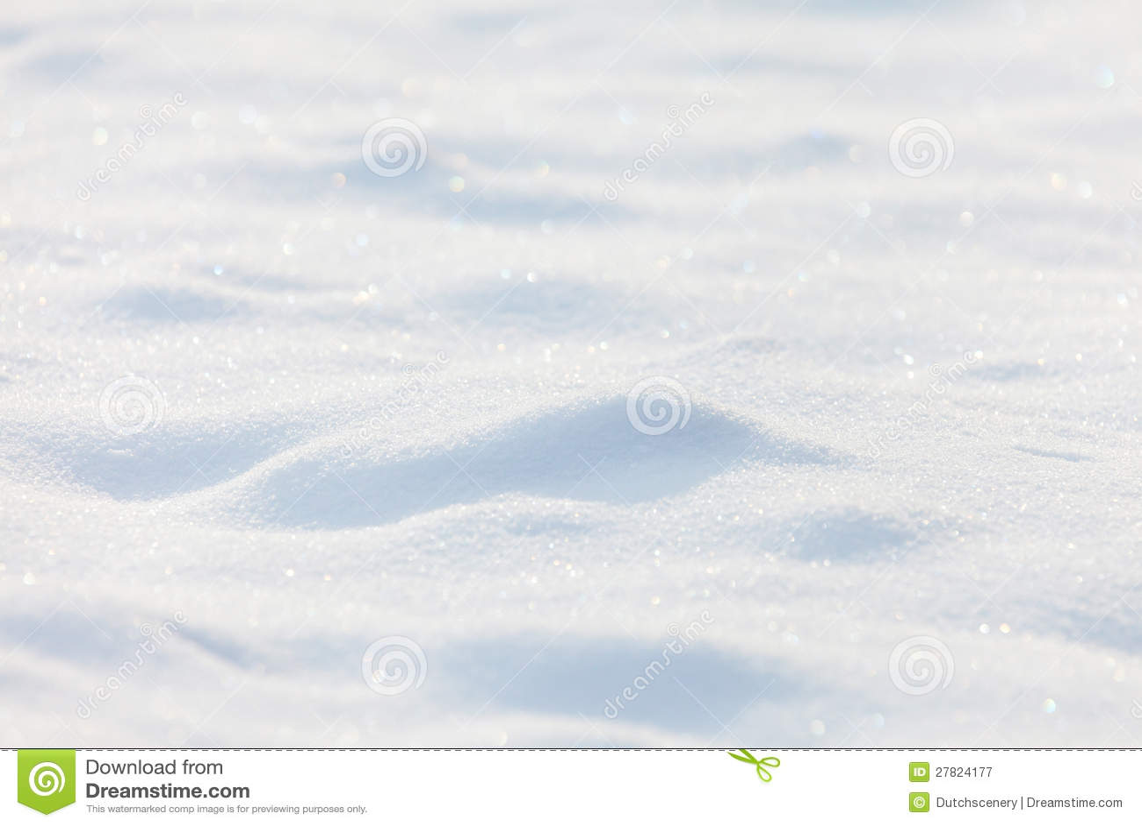 Sonniger Schneehintergrund