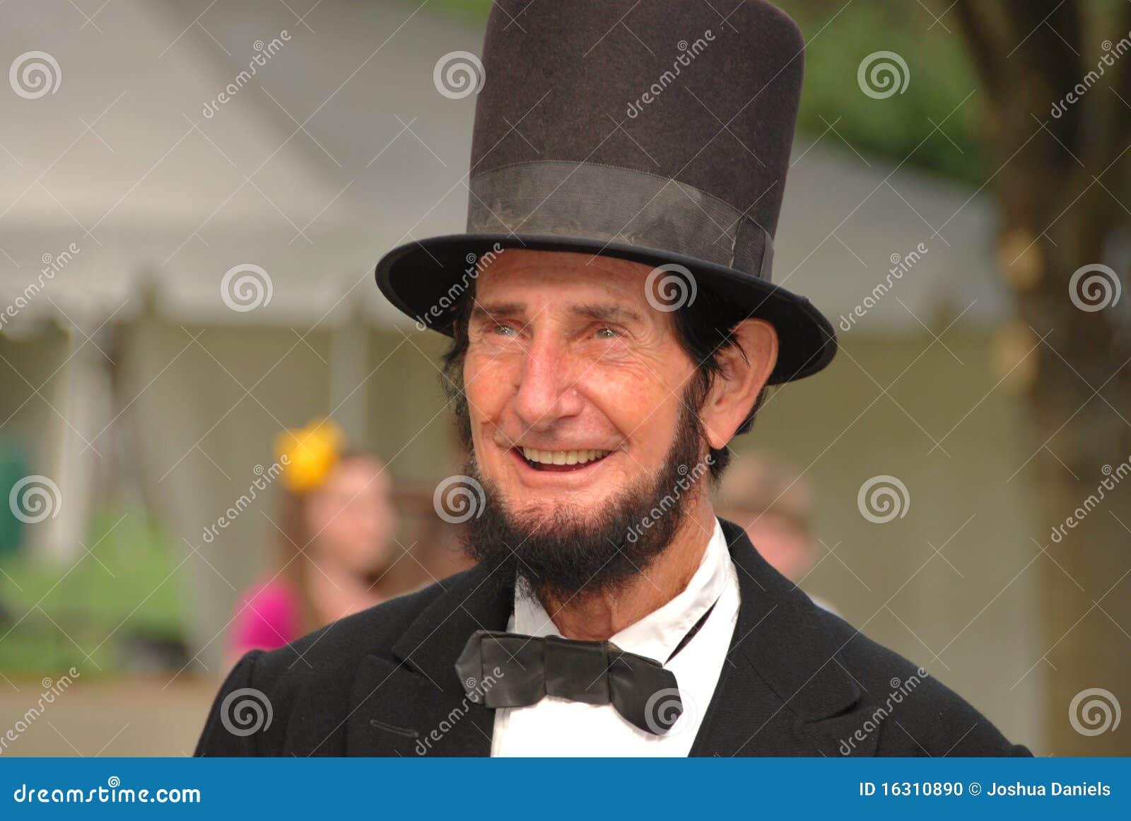 Sonrisa De Abraham Lincoln Imagen Editorial Imagen 16310890