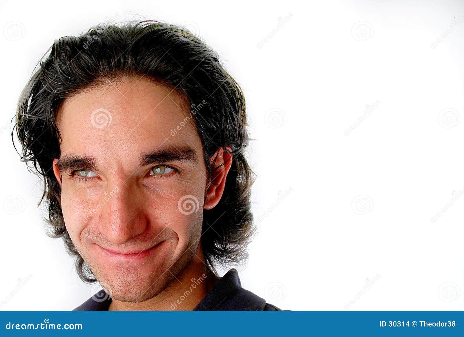 Sonrisa del hombre