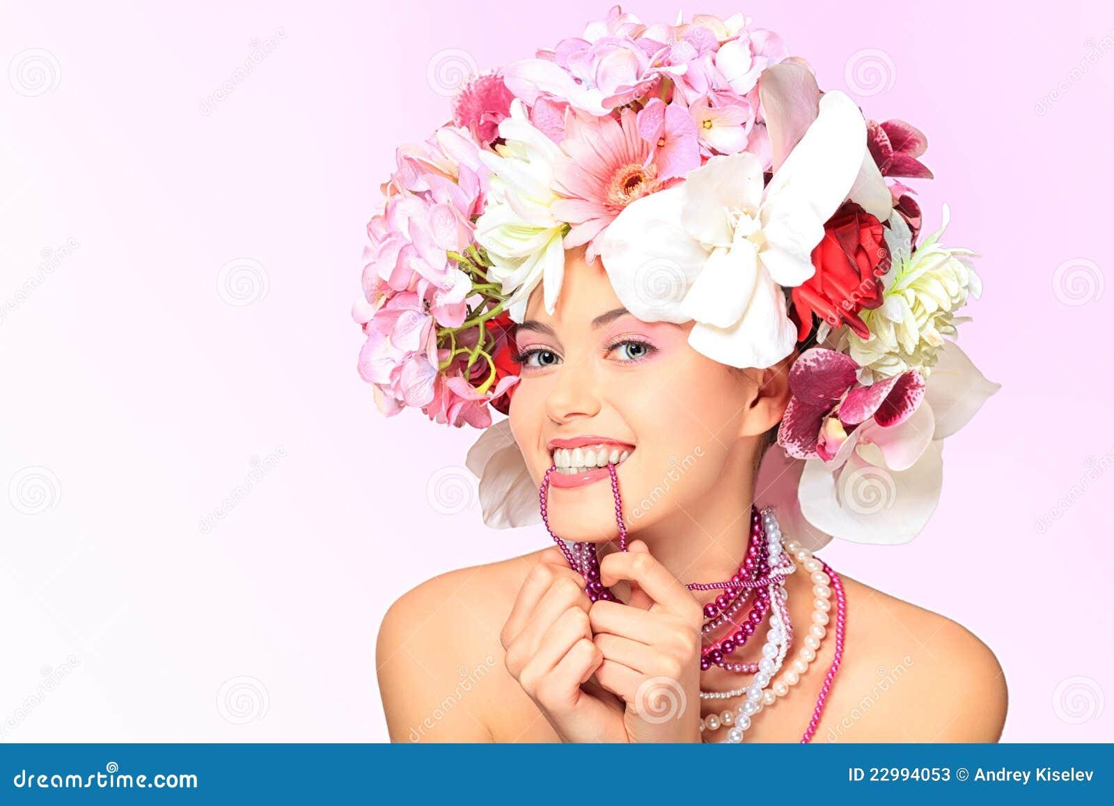 Sonrisa en flores