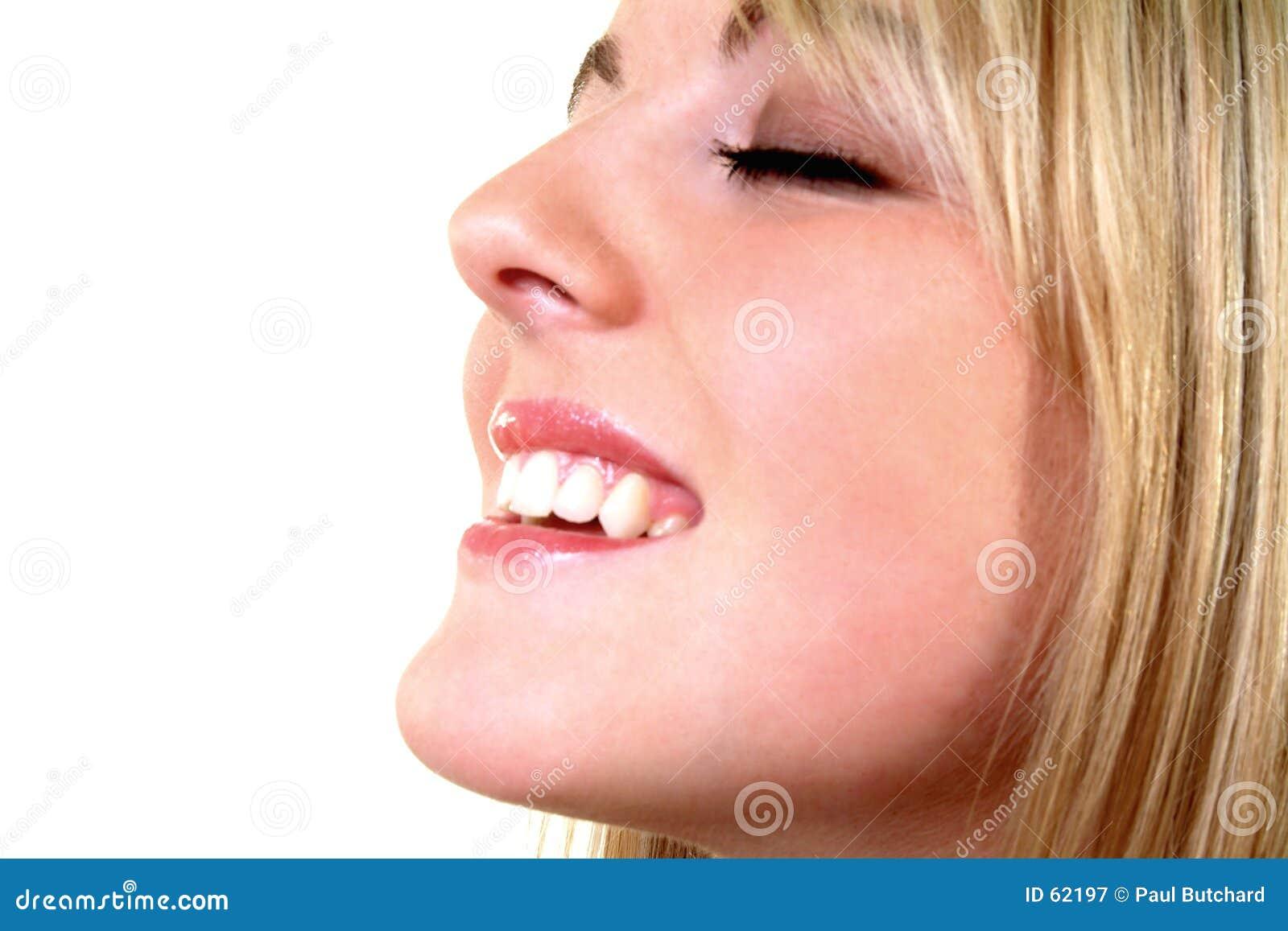 Sonrisa feliz