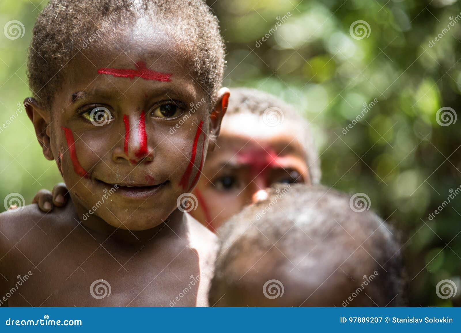 Sonrisas de Papúa Nueva Guinea