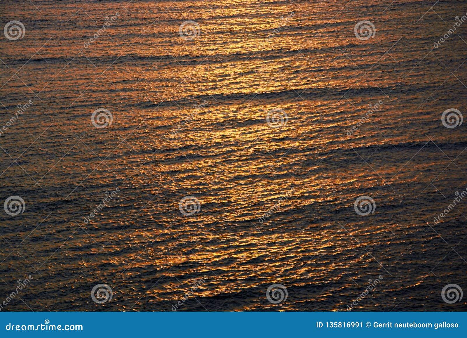 Sonset no Oceano Pacífico
