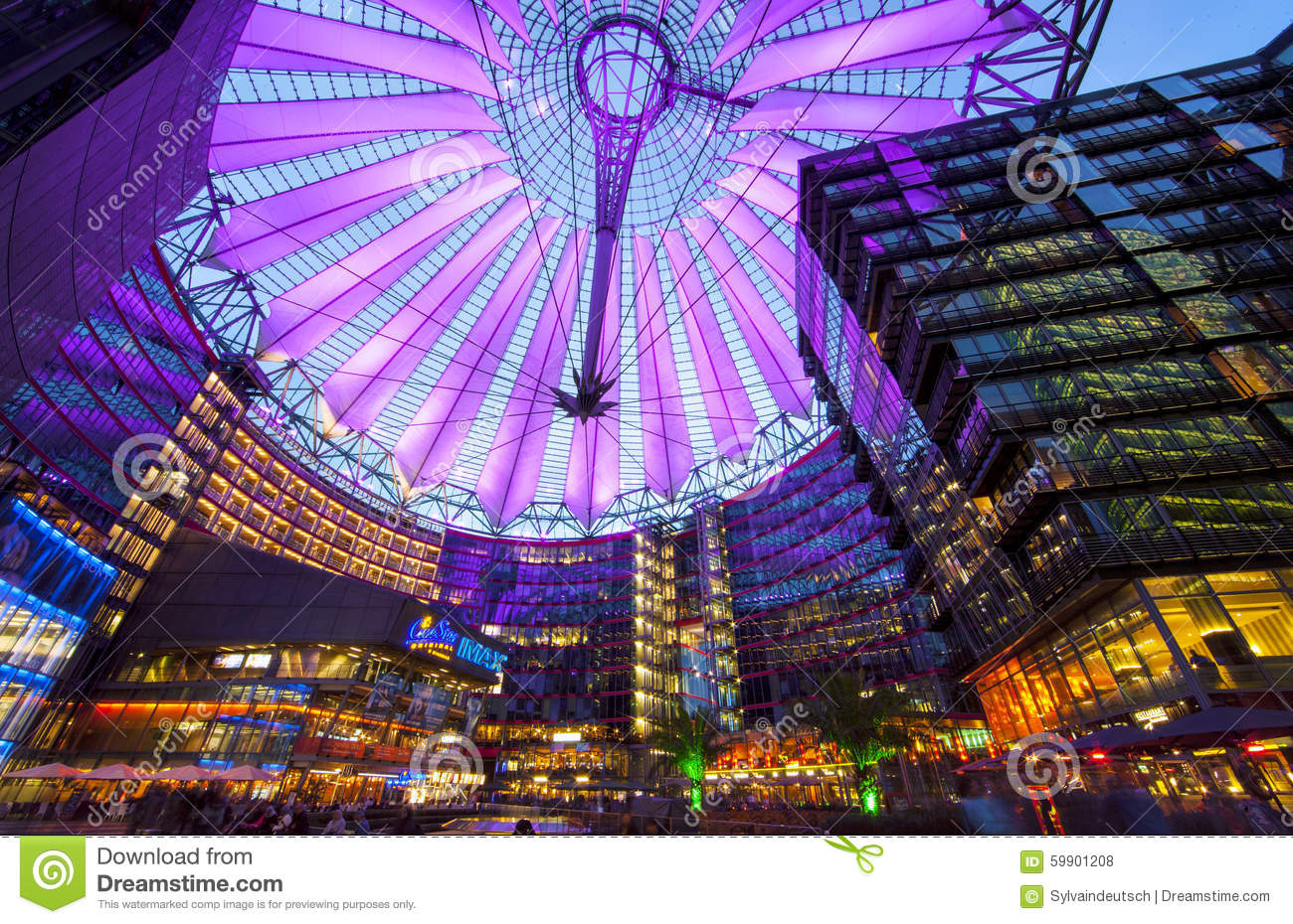 Sony Center Berlin Stock Photo Image 59901208
