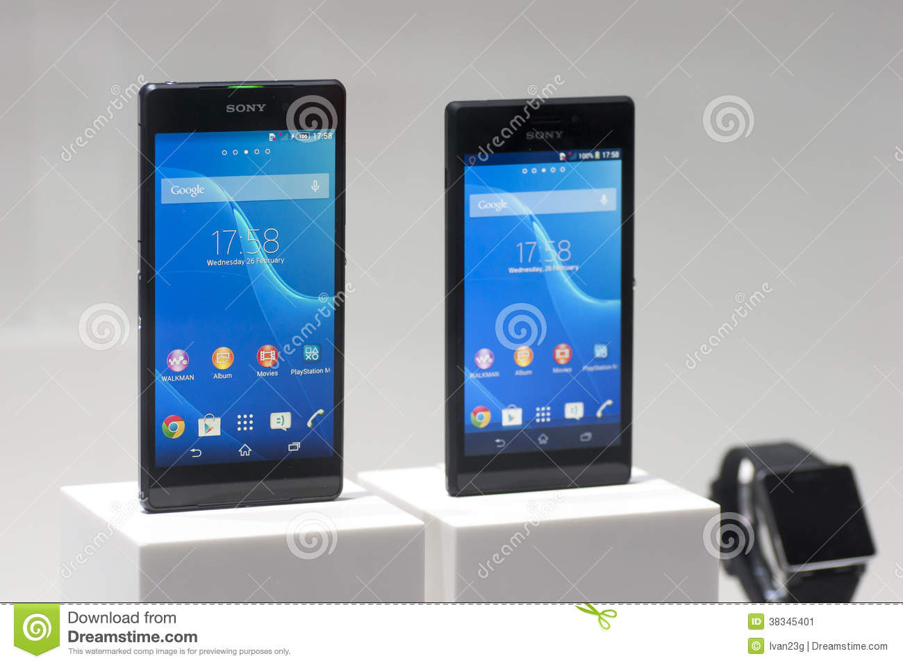 SONY XPERIA Z2 & M2, MOBILE WORLD CONGRESS 2014 Editorial
