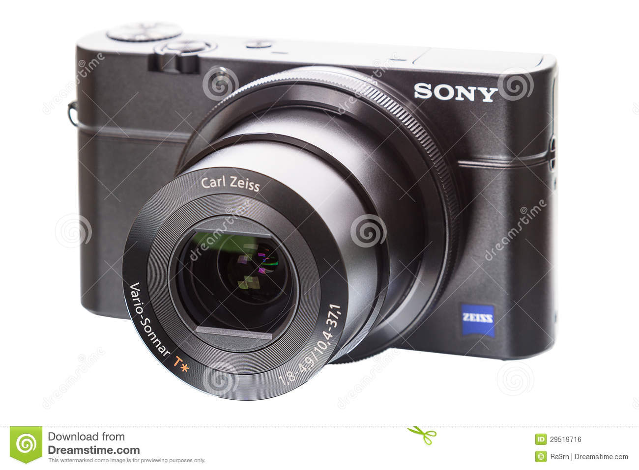 Sony Zeiss lens editorial photo  Image of white, cyber - 29519716