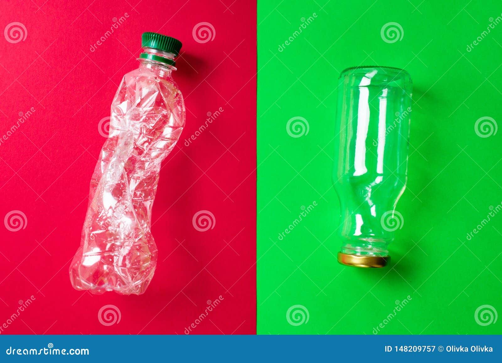Soort binnenlands afval voor recycling Het vervangen van niet ecologische verpakking voor milieuvriendelijke, opnieuw te gebruike