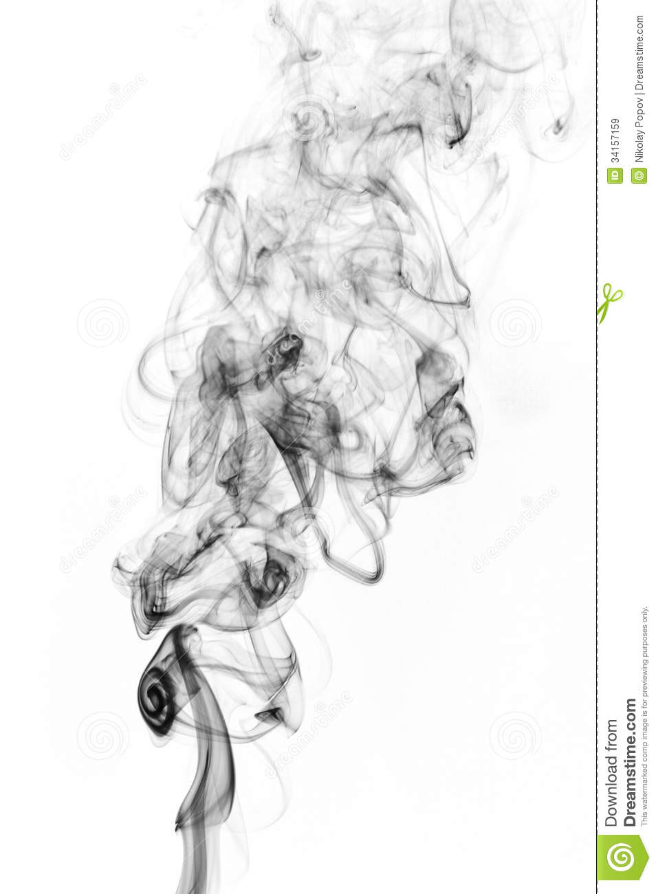 Soot. Black Smoke. Royalty Free Stock Images - Image: 34157159