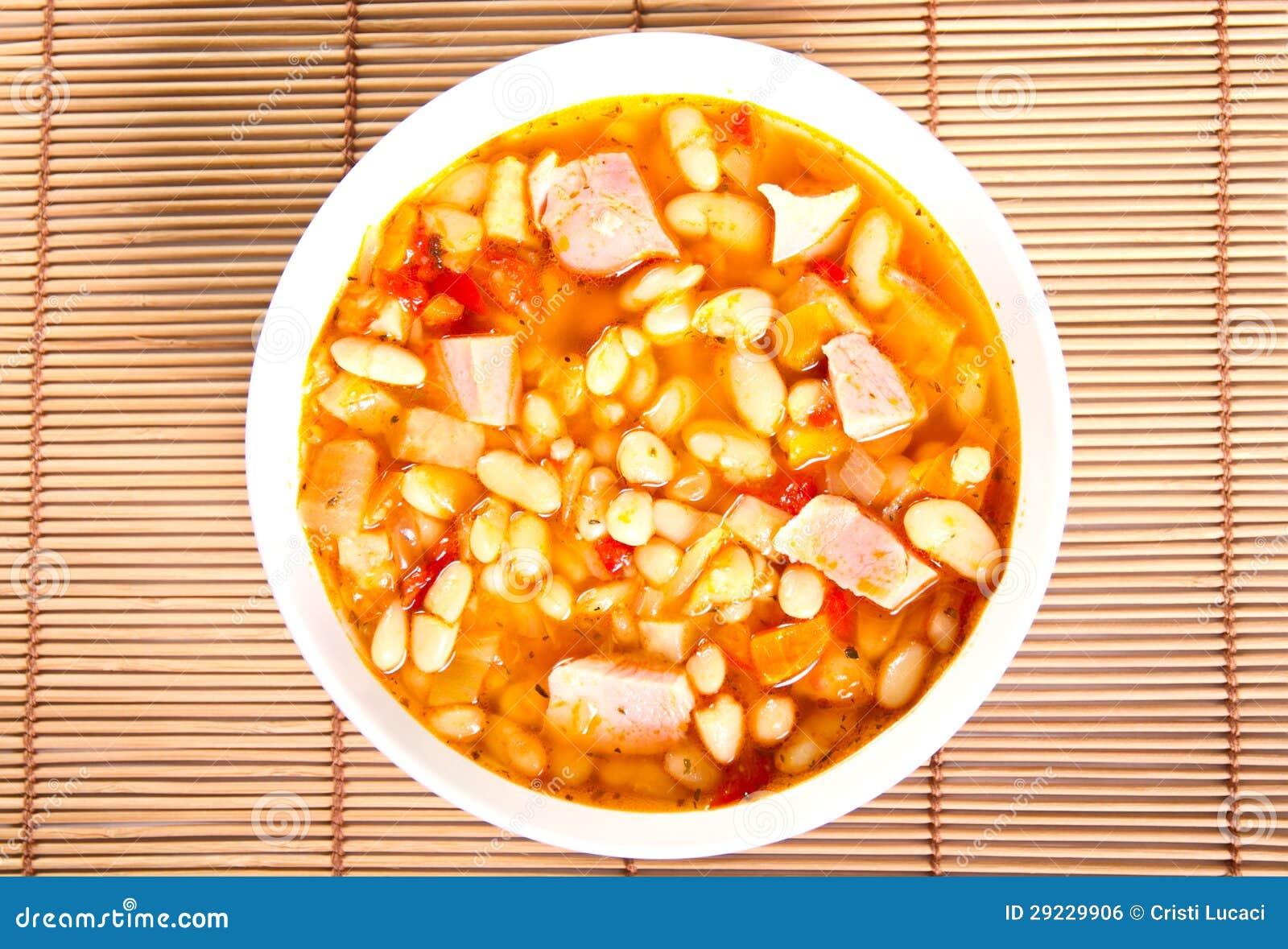 Download Sopa foto de stock. Imagem de feijão, saudável, bacia - 29229906