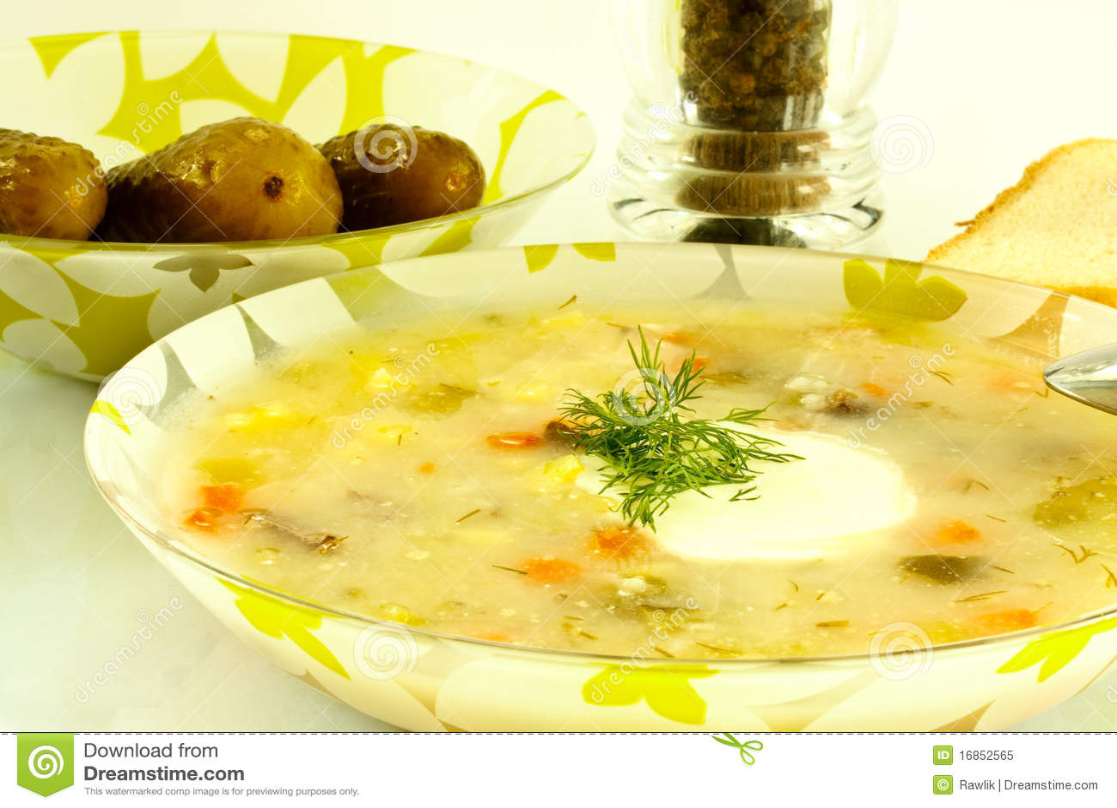 Sopa da salmoura