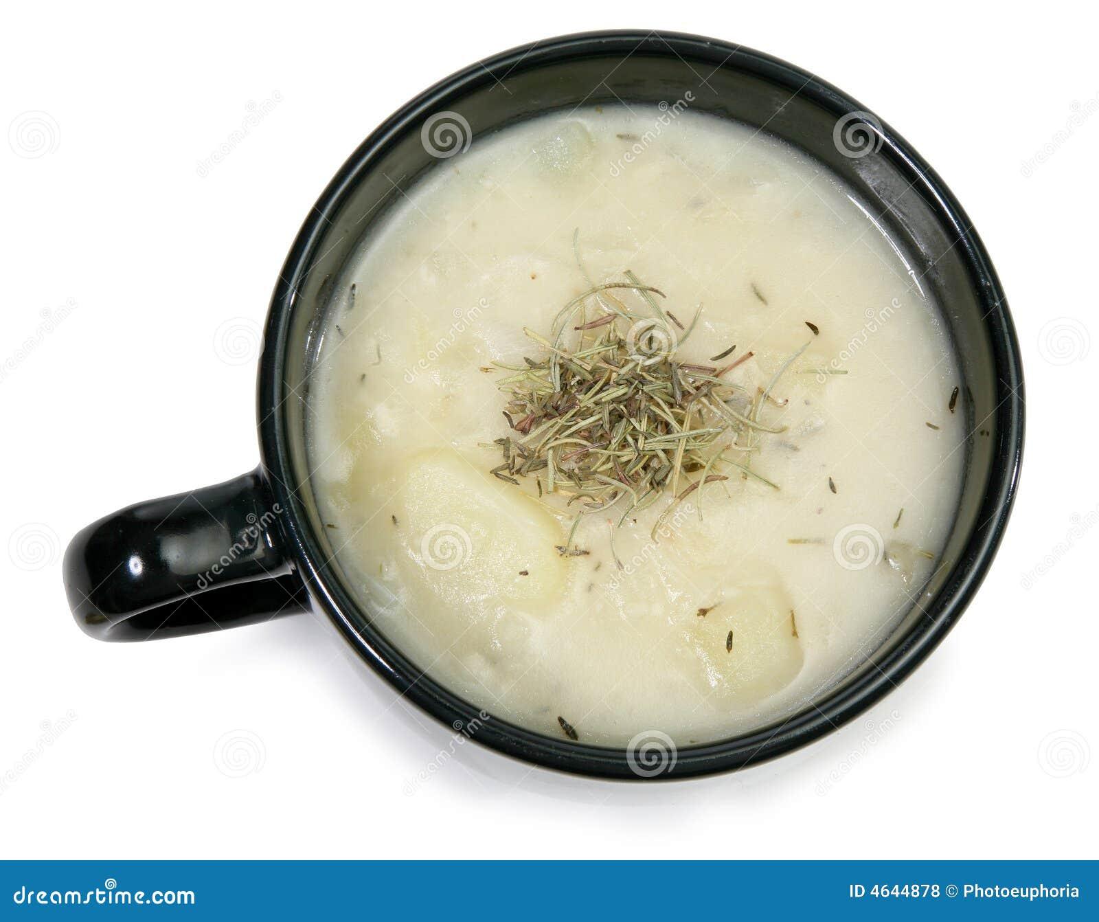 Sopa de batata da erva