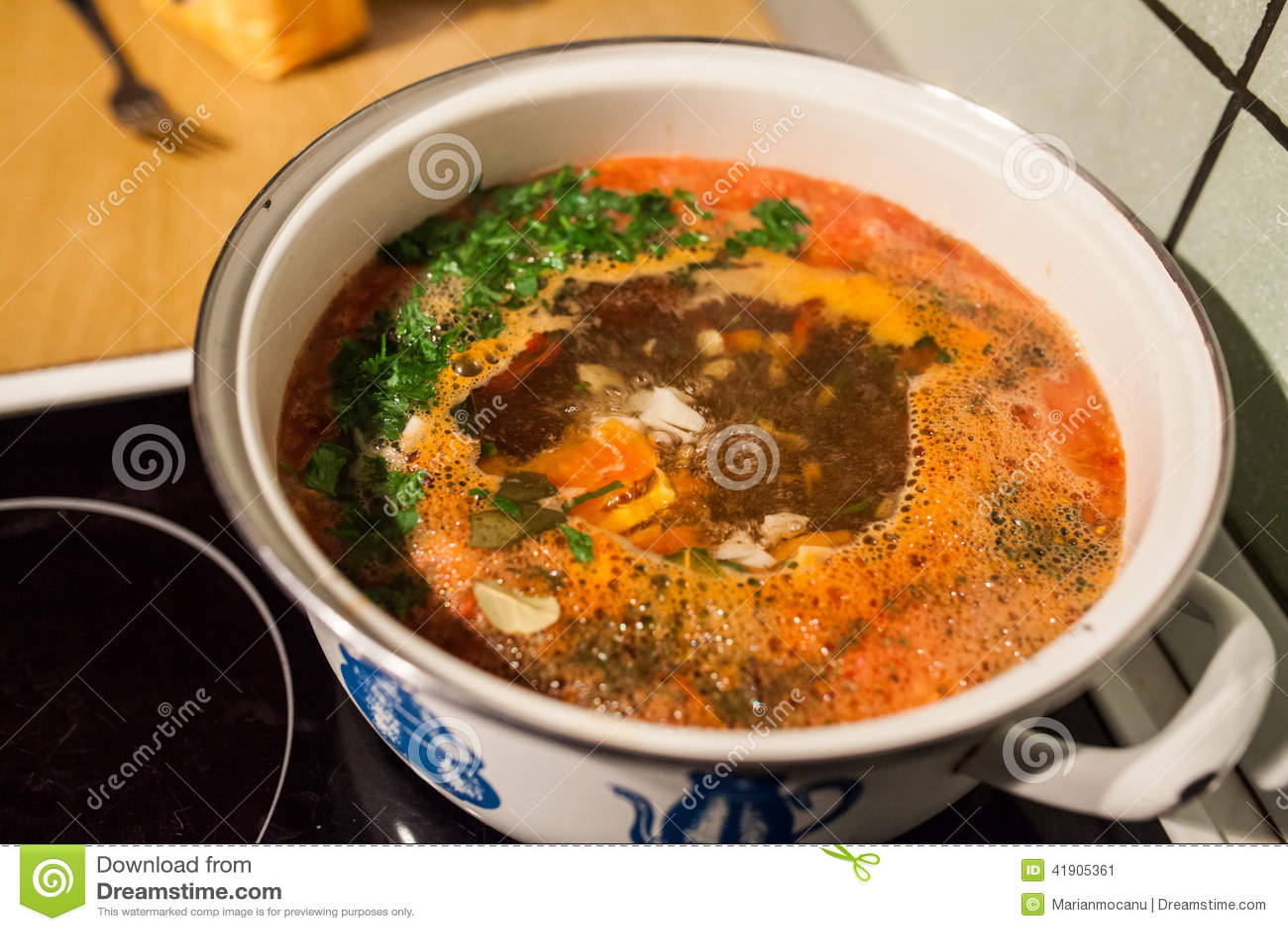 Sopa de los pescados