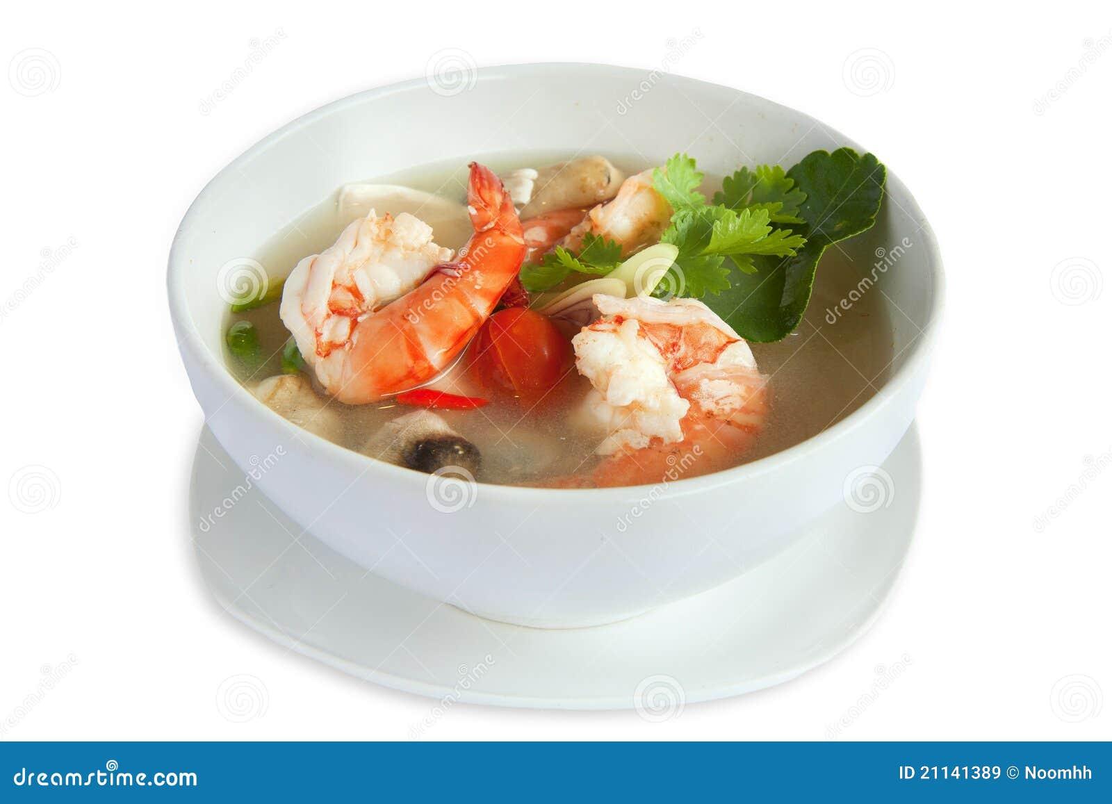 Sopa de Tom Yum