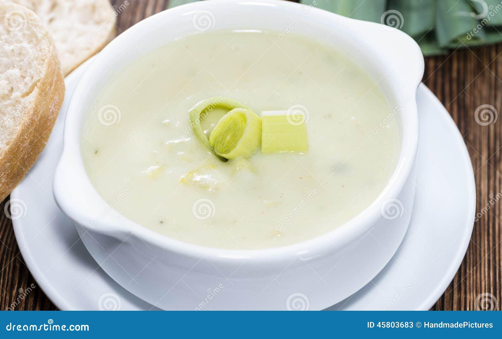 Sopa del puerro