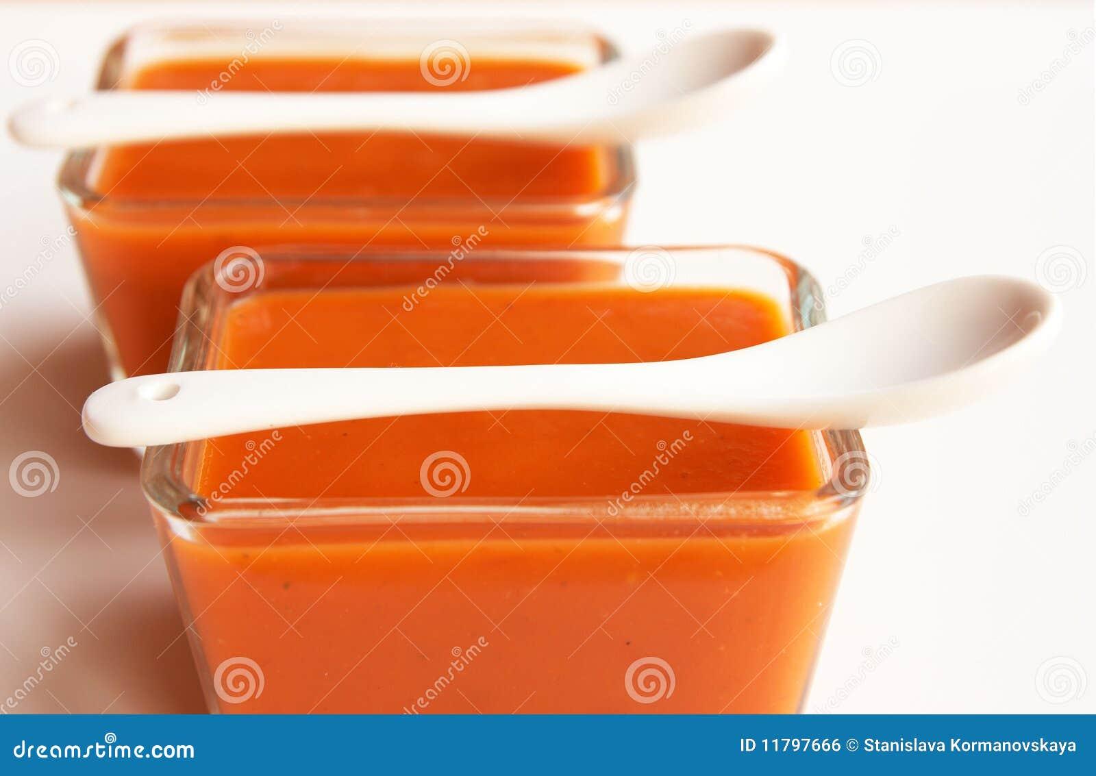 Sopa del tomate