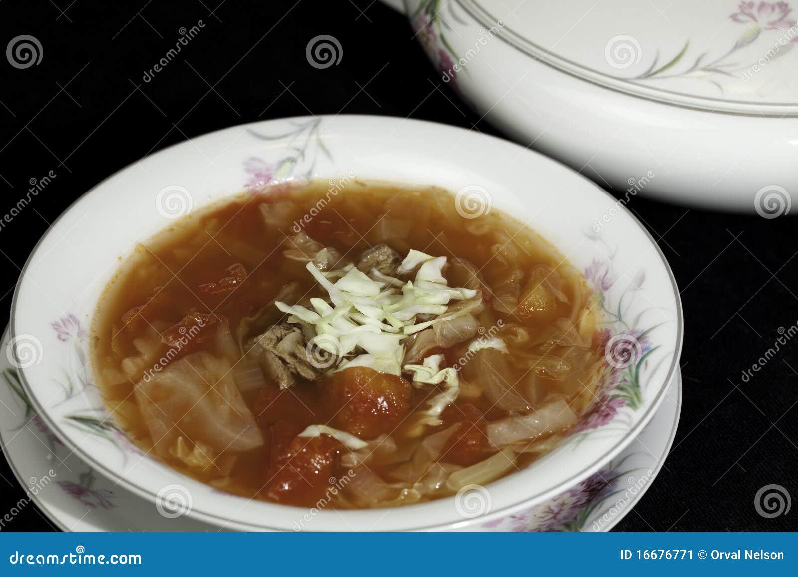 Sopa do repolho