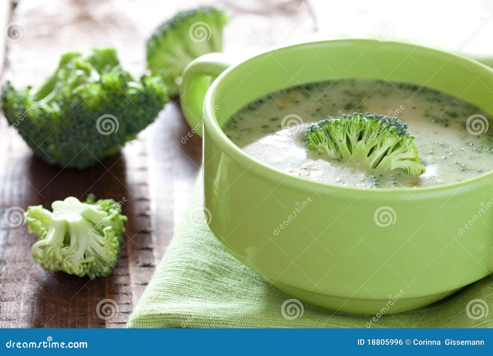 Sopa dos bróculos