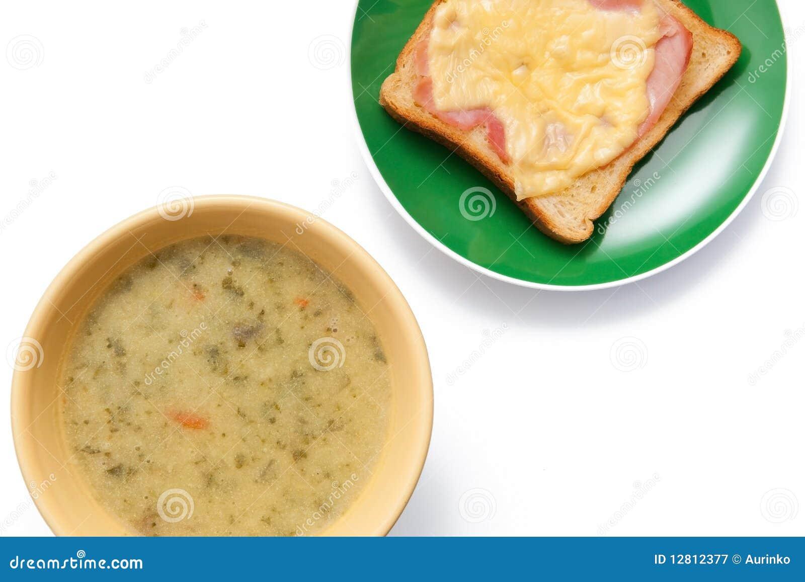 Sopa e brinde