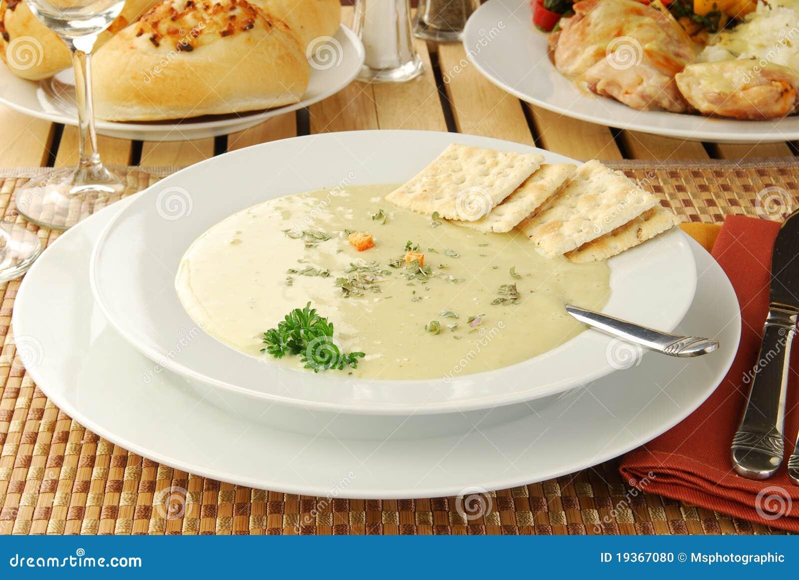 Sopa quente