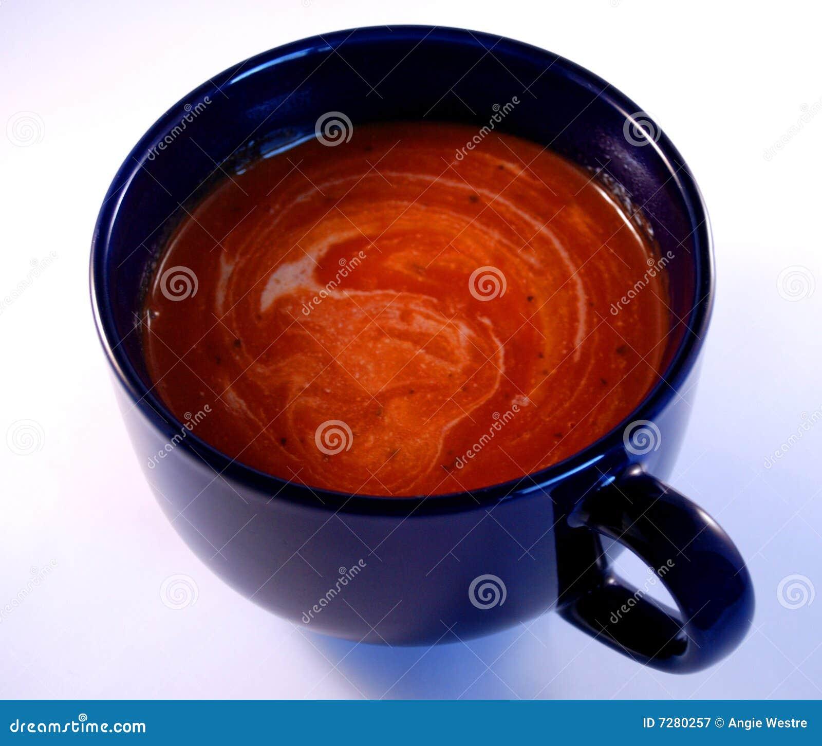 Sopa y crema del tomate