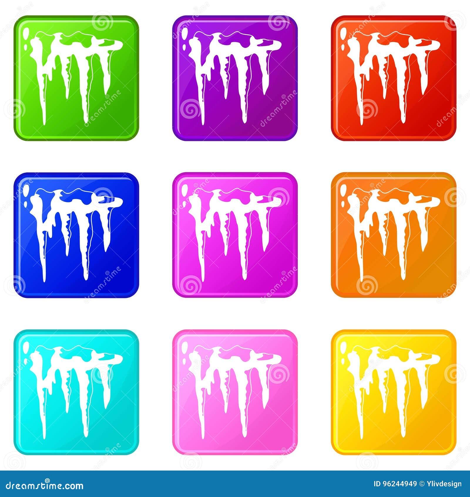 Sopel ikon 9 set