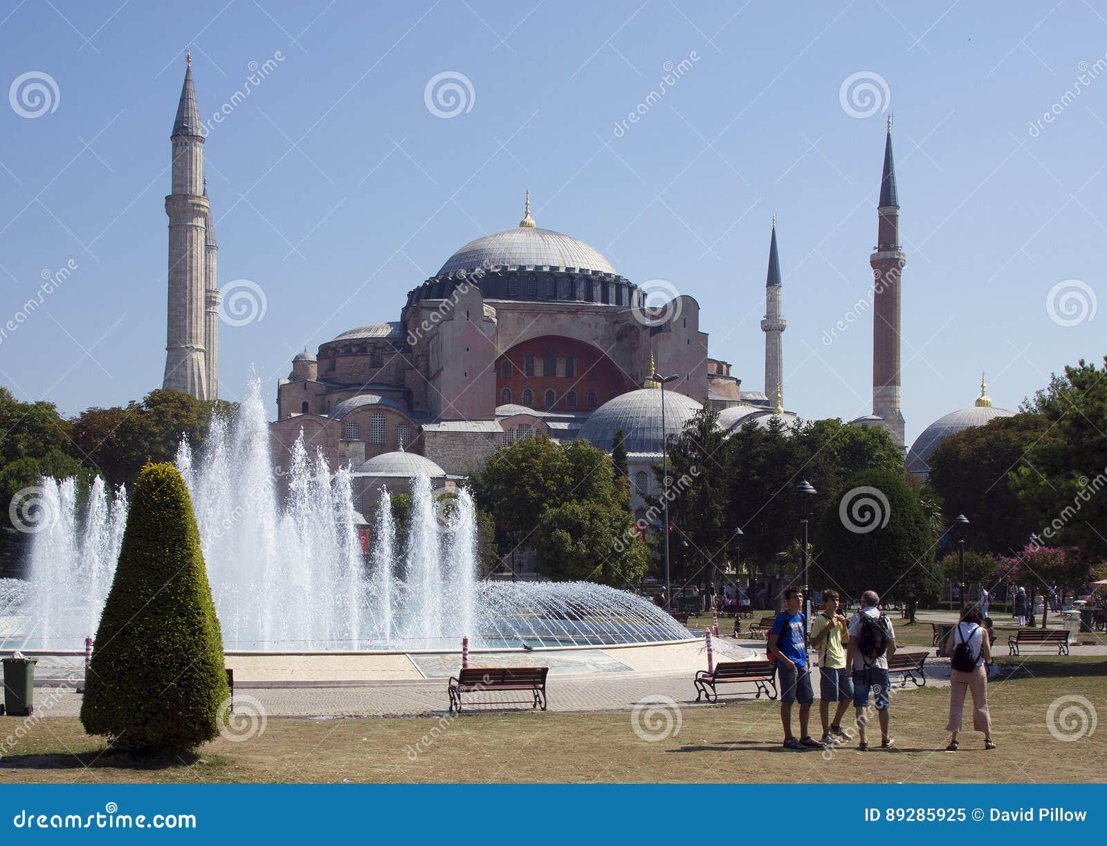Sophia της Κωνσταντινούπολης hagia
