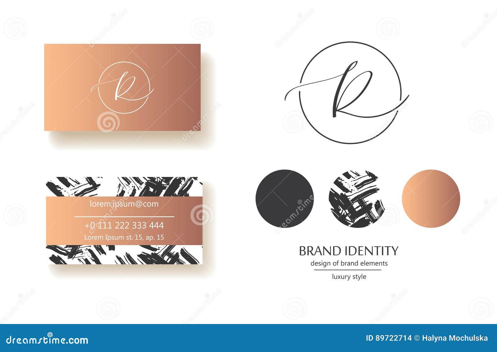 sophisticated brand identity letter r line logo business. Black Bedroom Furniture Sets. Home Design Ideas