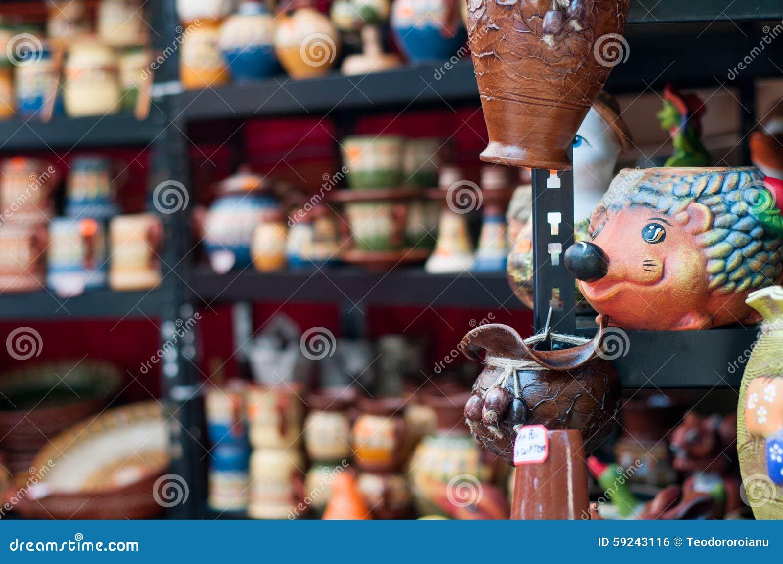 Soporte de la cerámica