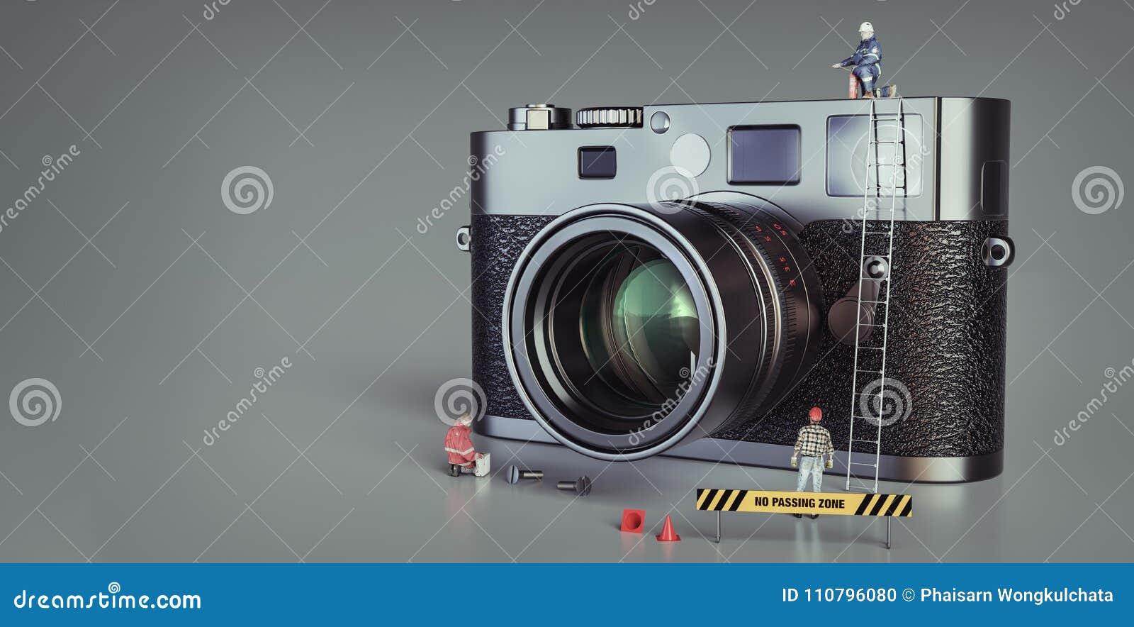 Soporte de la muñeca alrededor de la cámara