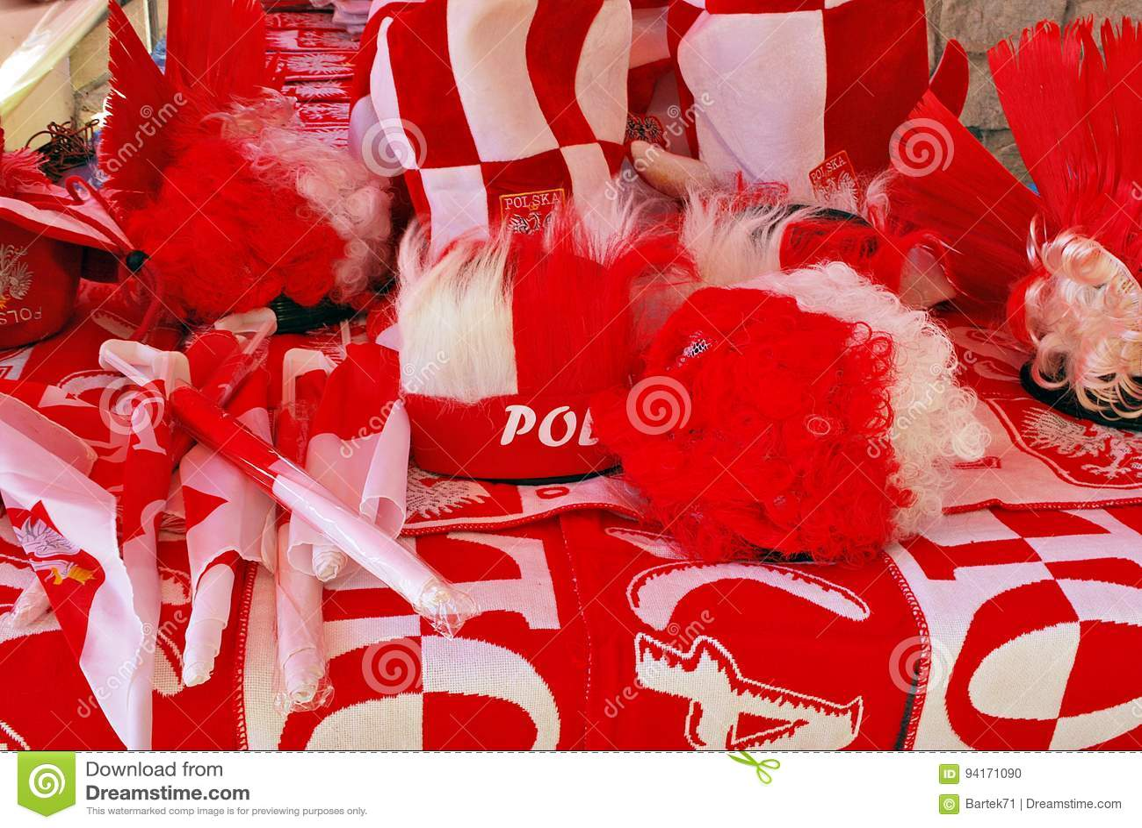 Soporte de los accesorios de las fans del polaco en frente