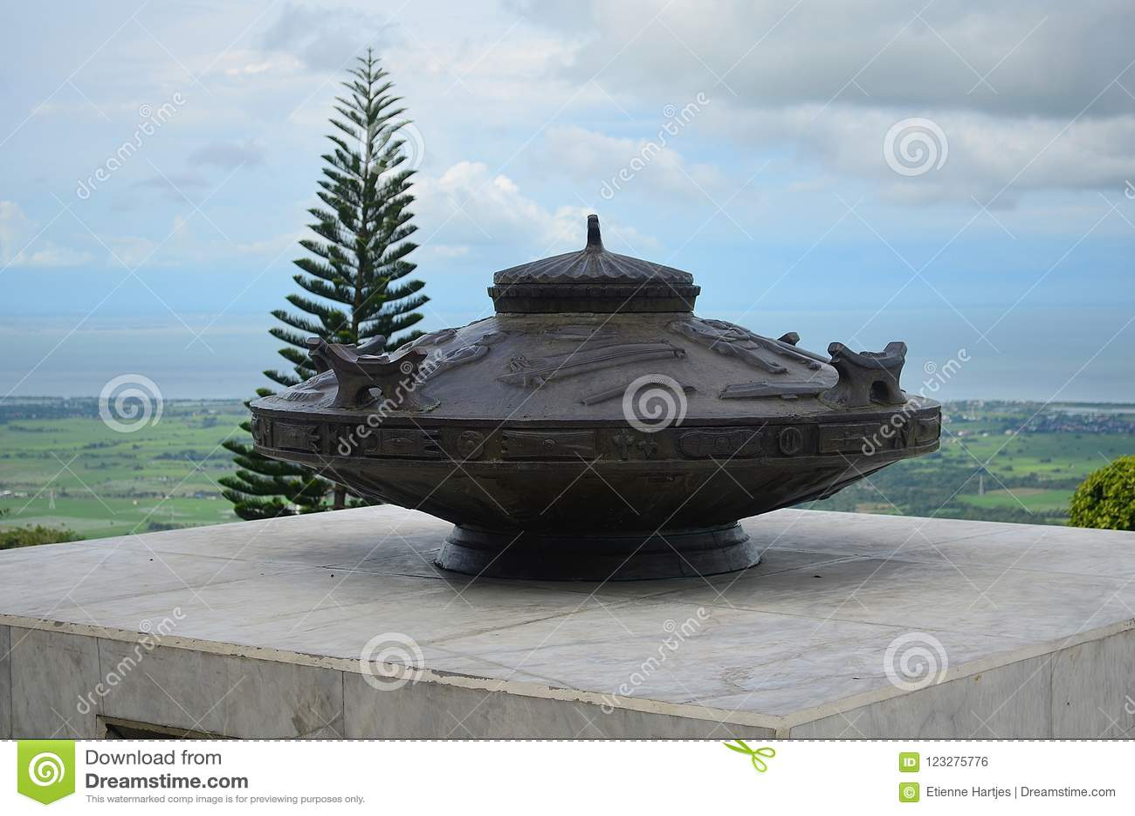 Soporte Samat National Shrine Bataan Filipinas