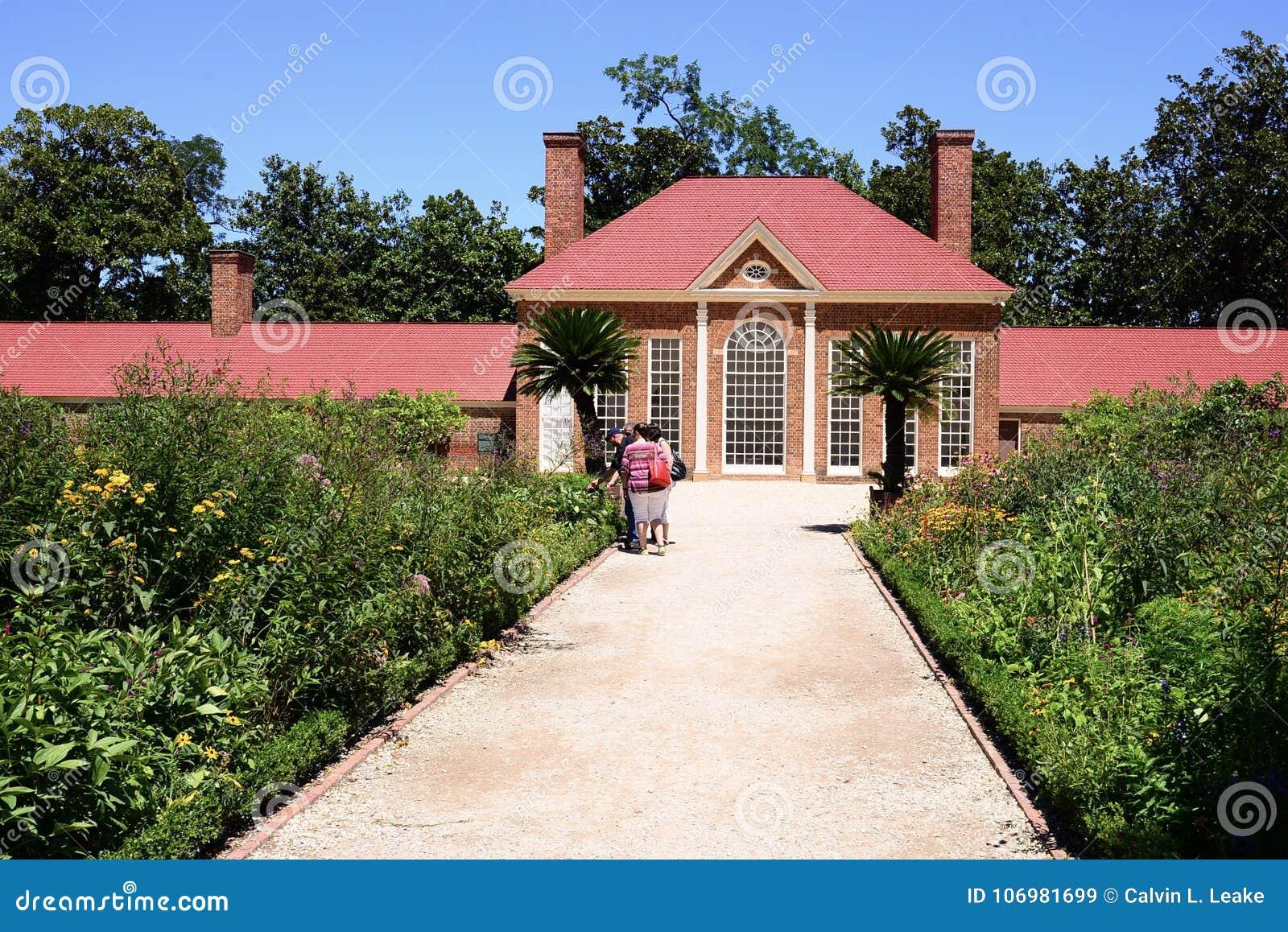 Soporte Vernon Estate Greenhouse del ` s de Washington