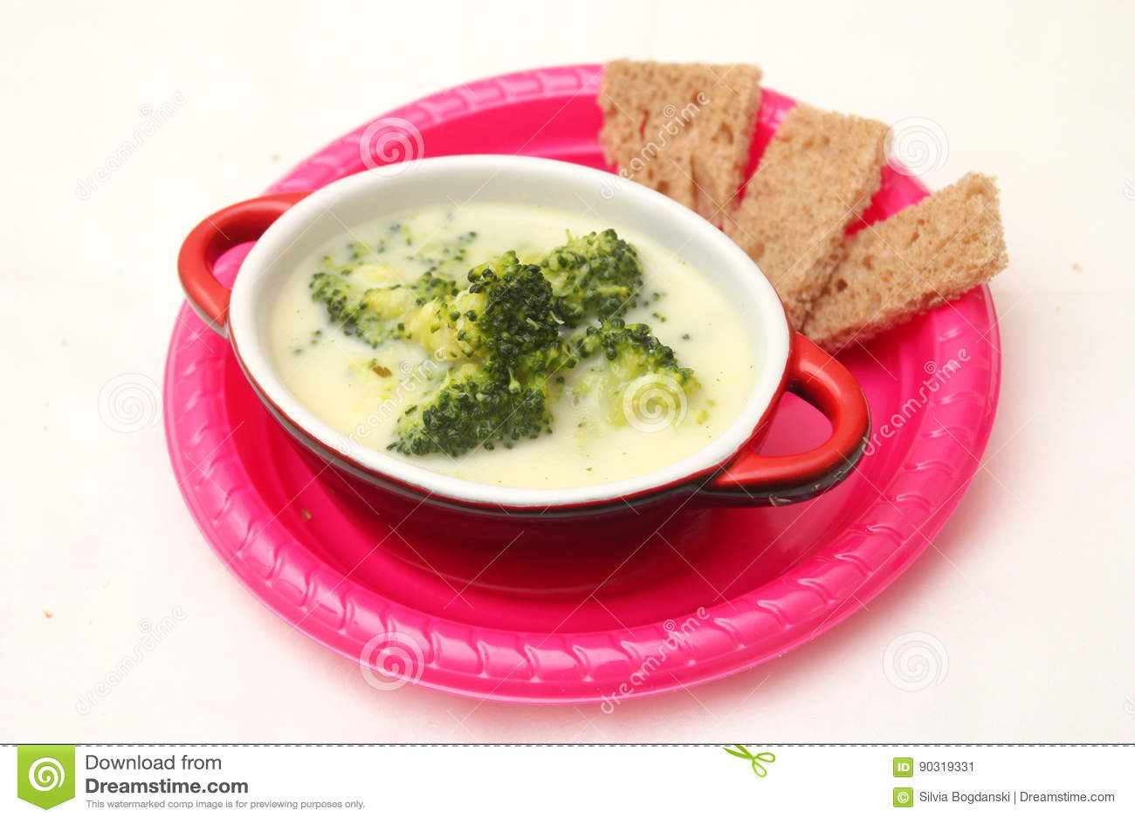 Soppa av broccoli