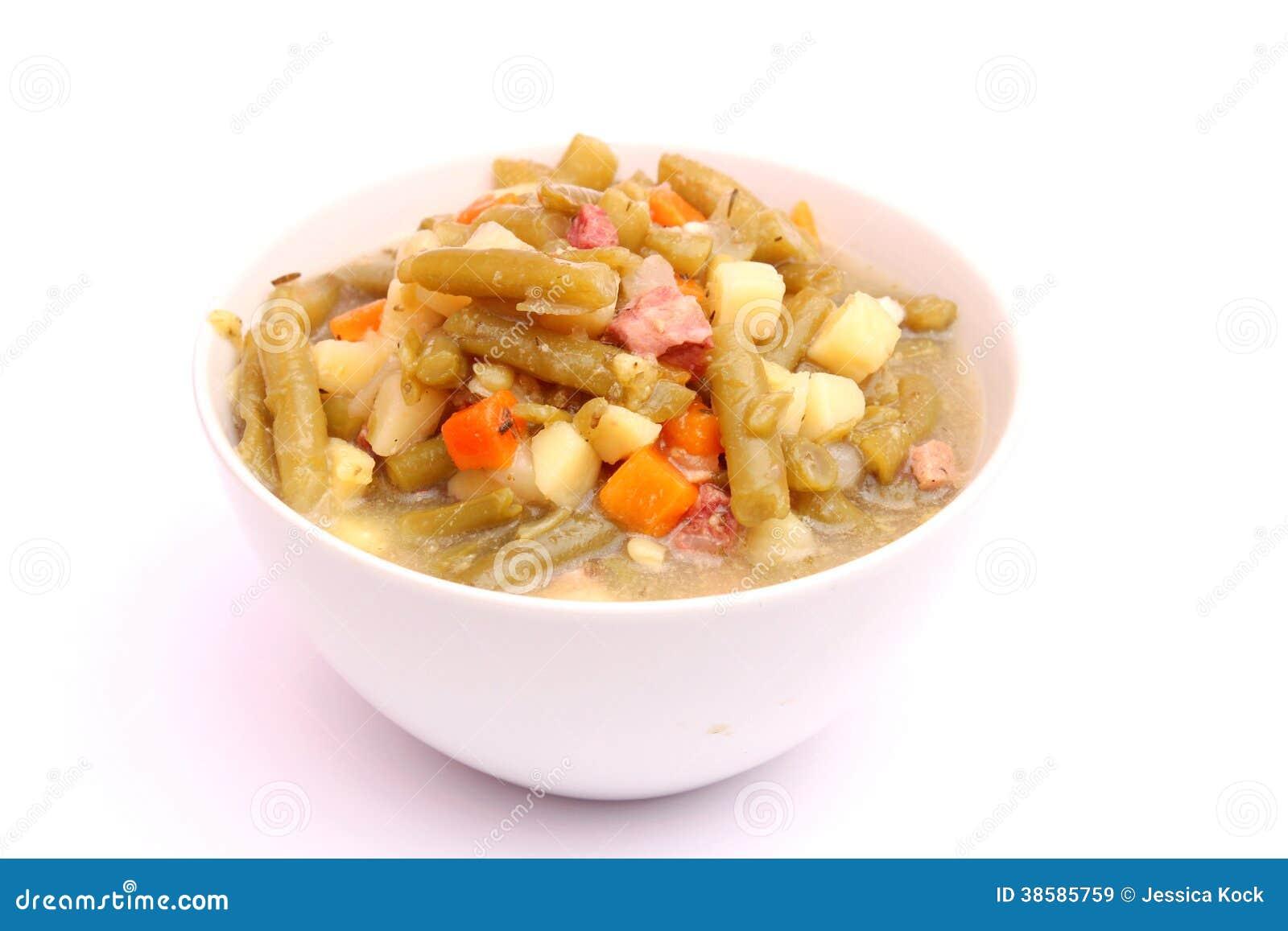 haricots verts soppa