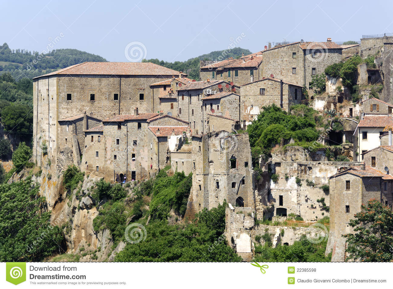 Sorano Italy  city images : Sorano Grosseto, Tuscany, Italy , panoramic view of the medieval town ...