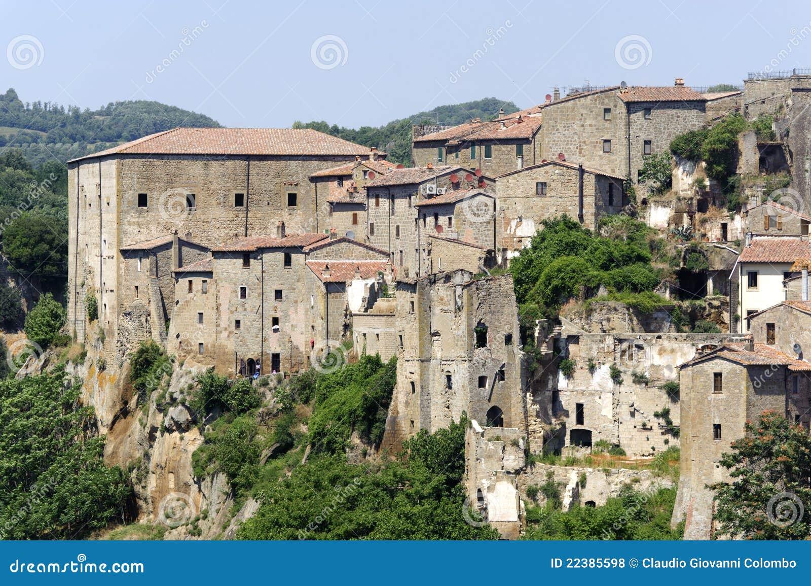 Sorano Italy  city photos gallery : Sorano Grosseto, Tuscany, Italy , panoramic view of the medieval town ...