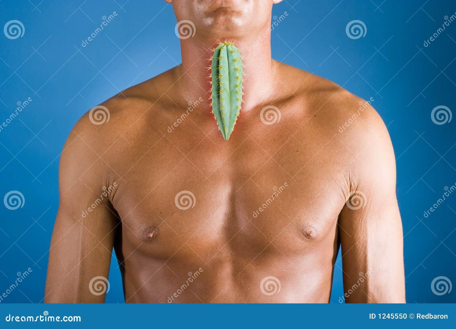 Throat extended