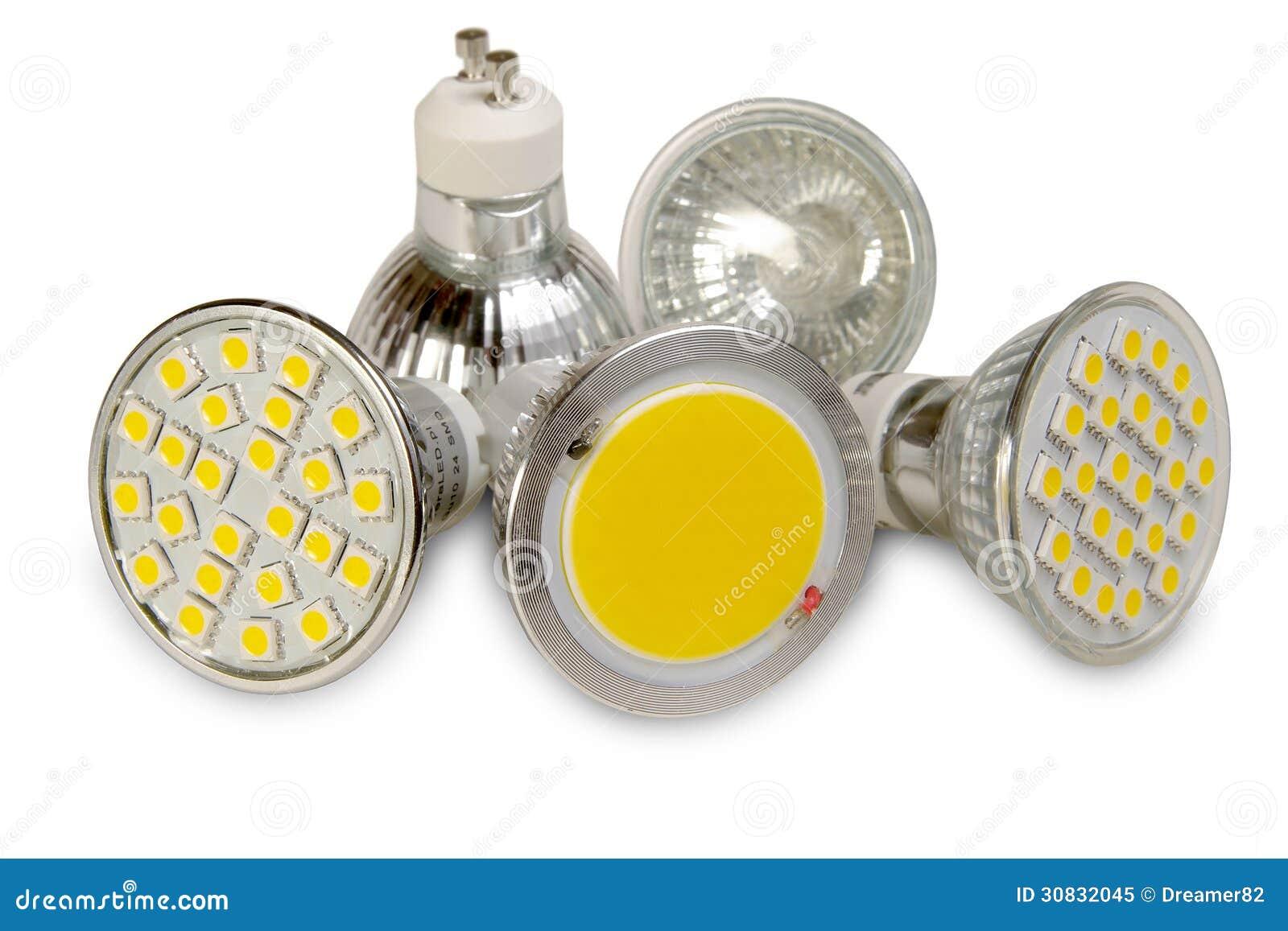 Sorgenti luminose efficienti su bianco