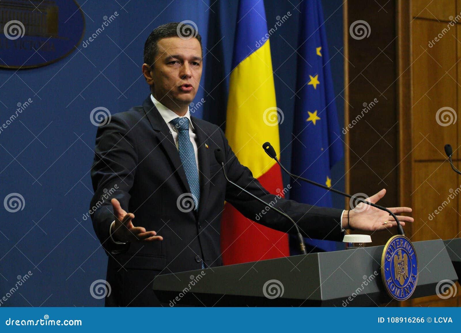 Sorin Grindeanu sans ministres - gouvernement roumain - la politique