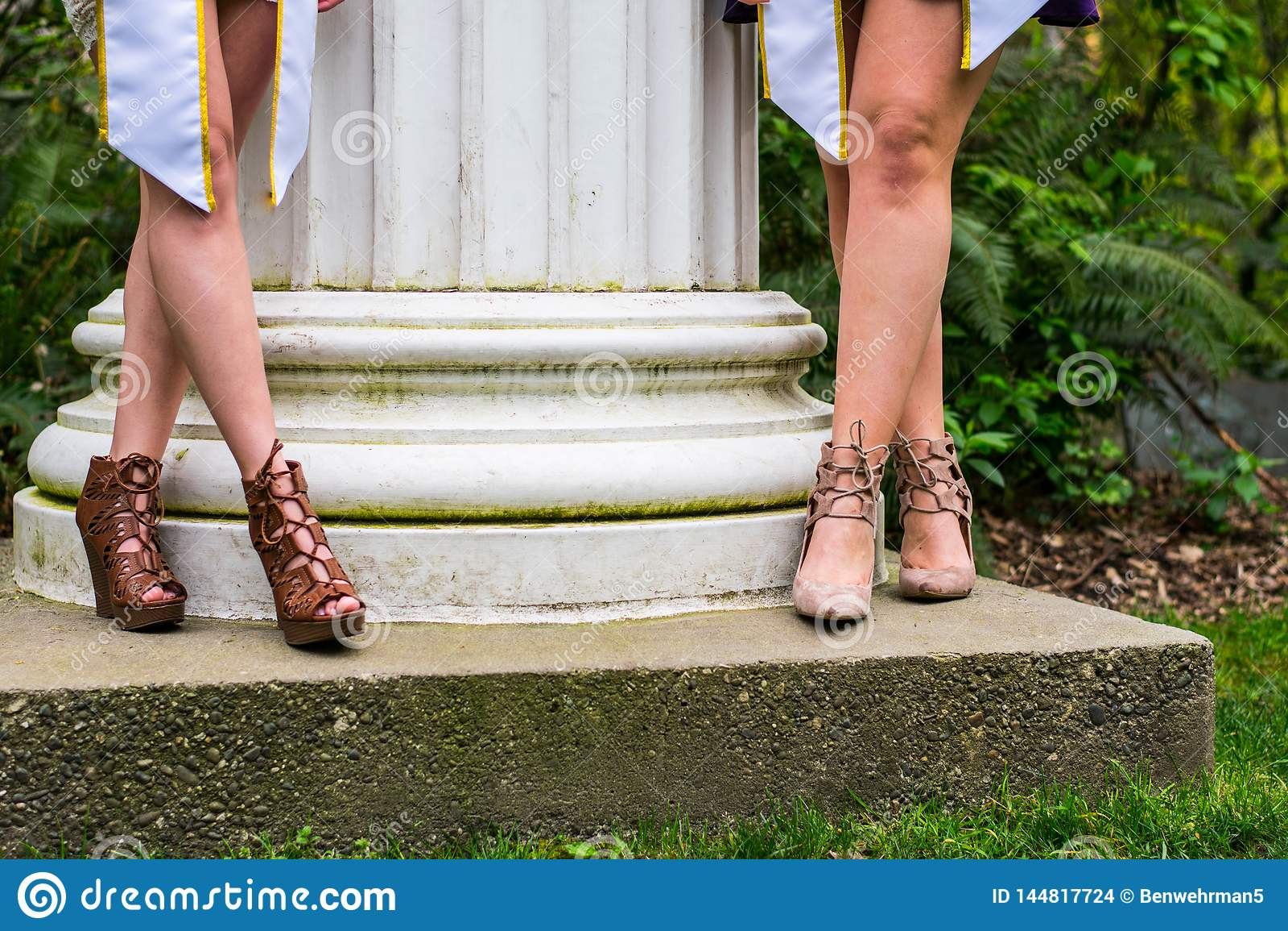 Sorority Girls Graduating