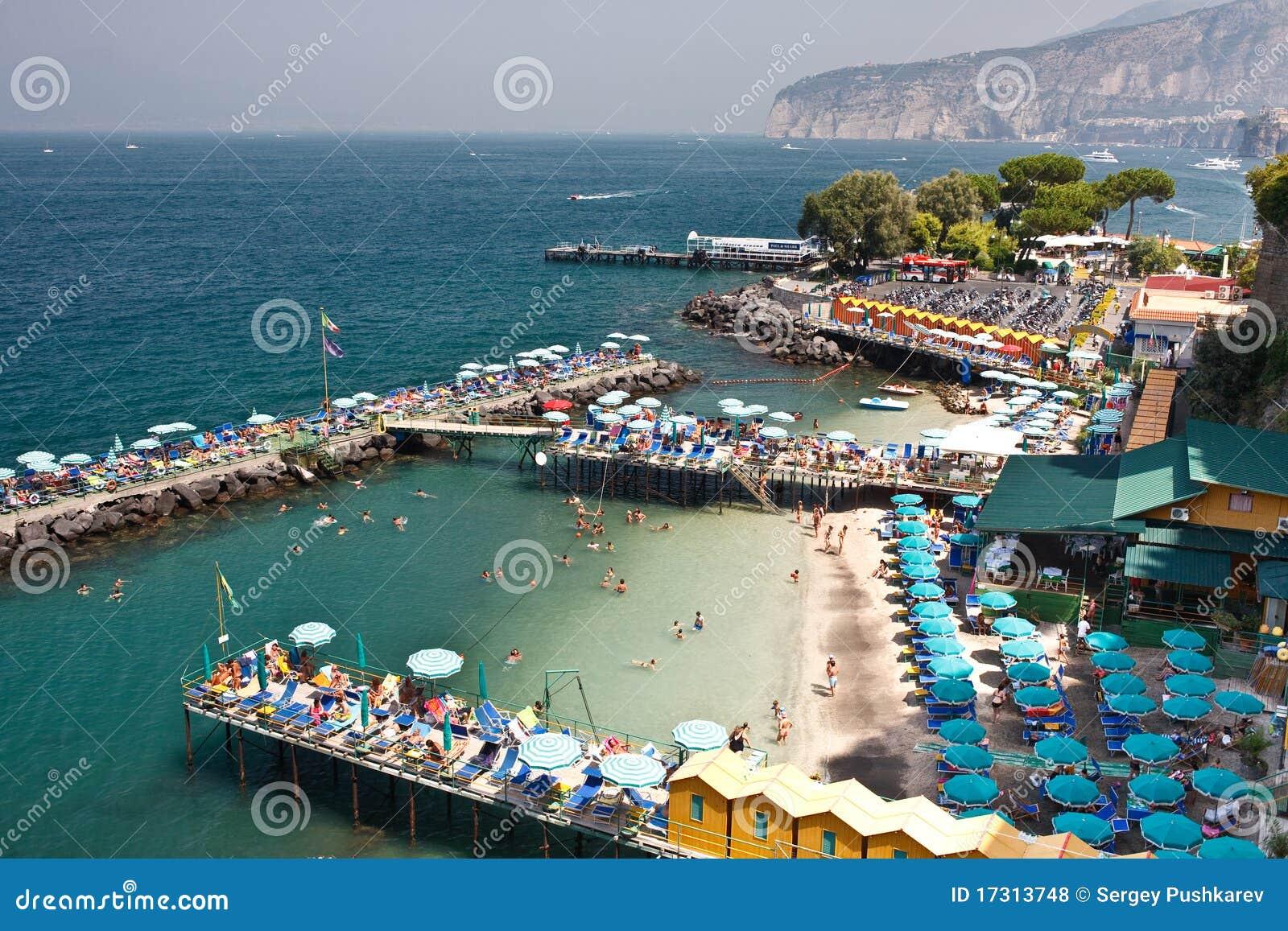 Italian House Plans Sorrento Beaches Royalty Free Stock Photos Image 17313748