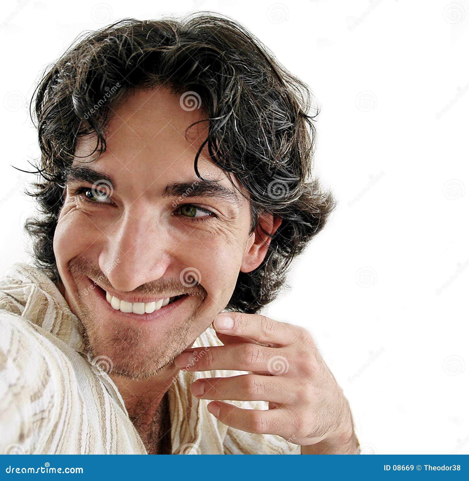 Sorridere dell uomo